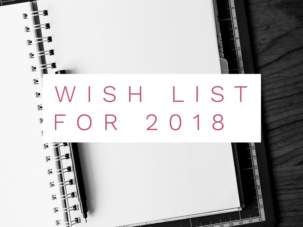 My Comping Wish List For 2018