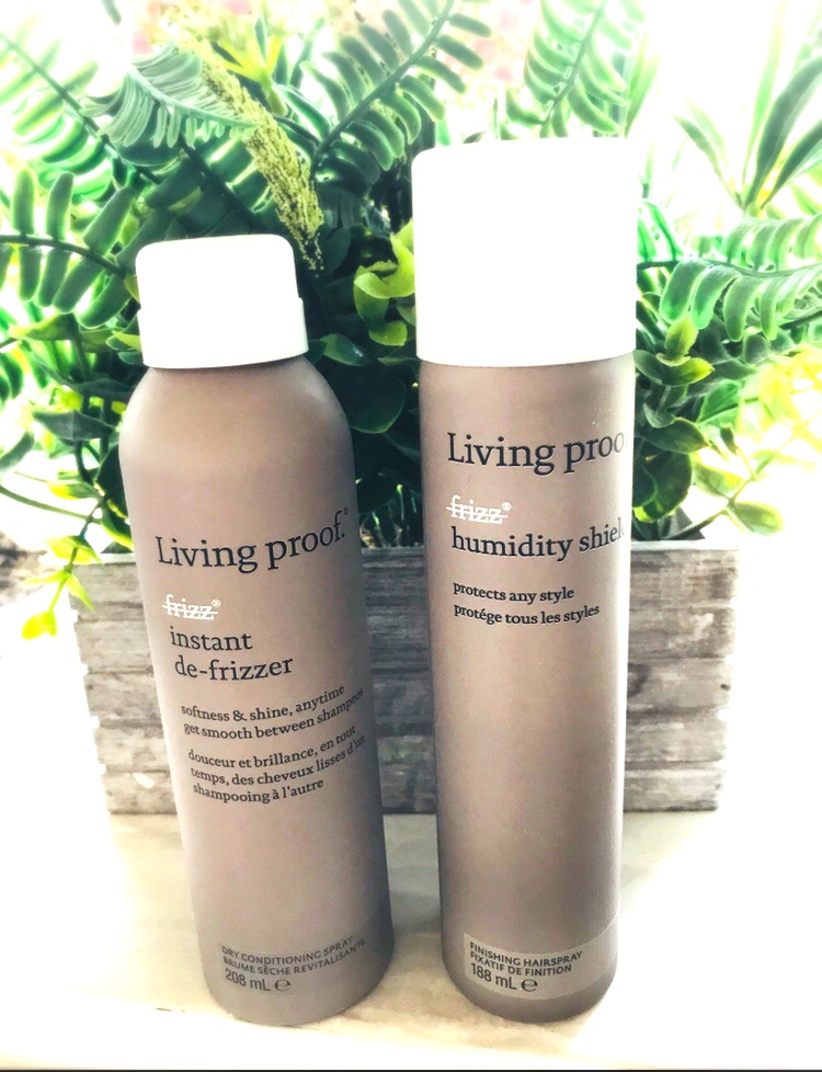 eeping My Hair Frizz Free With Living Proof Review
