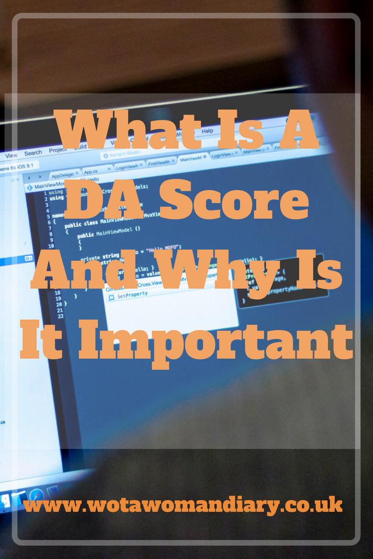 Domain Authority Score