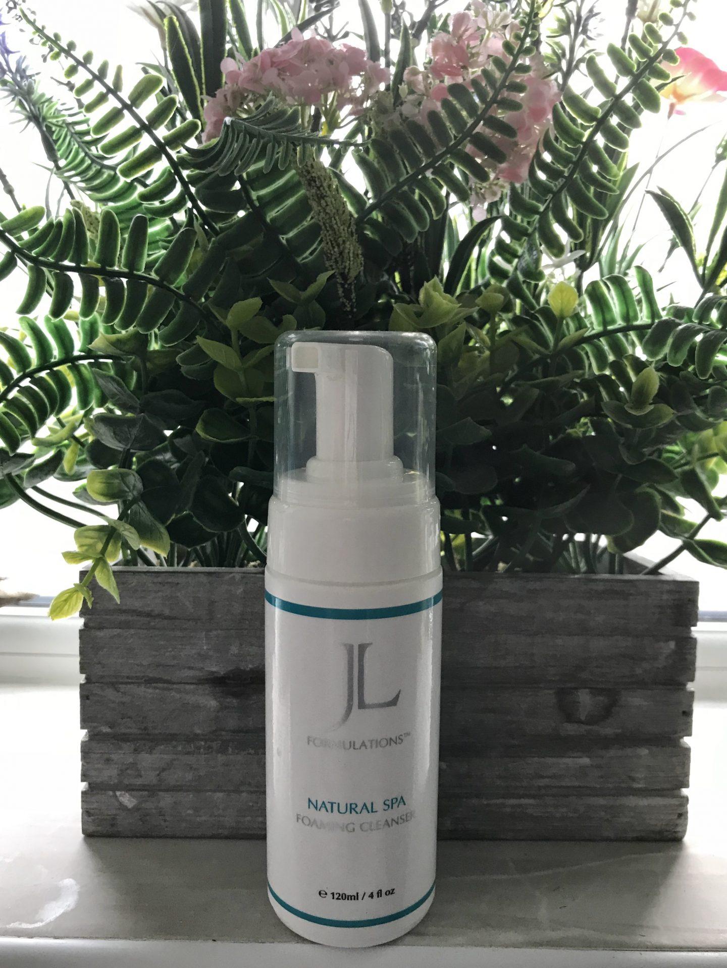 JL Formulations Natural Spa Foaming Cleanser