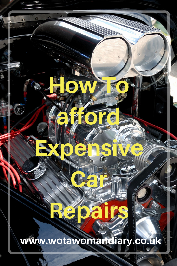 how to afford expensive car repairs