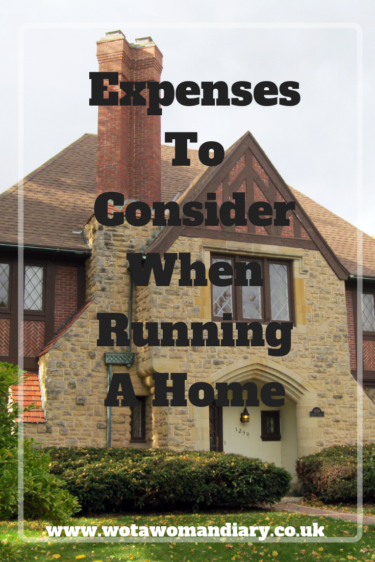 Expenses To Consider When Running A Home