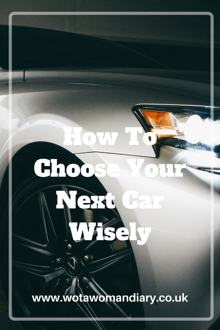 How to Choose Your Next Car Carefully Text Image