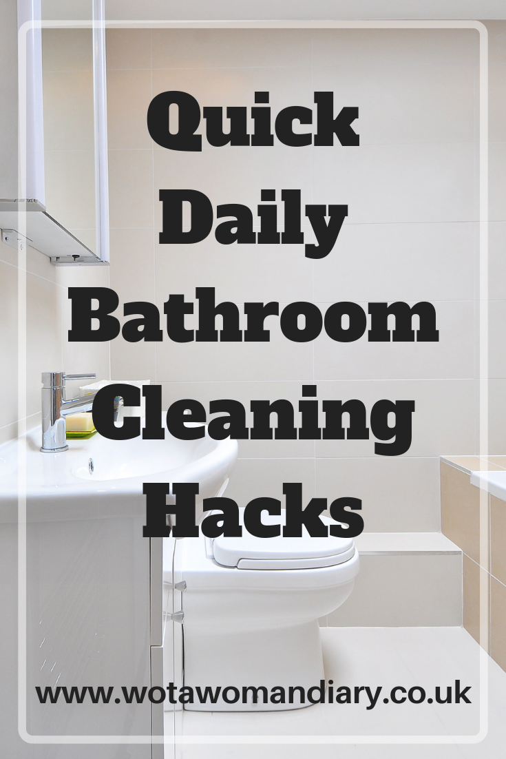 Quick Daily Bathroom Cleaning Hacks