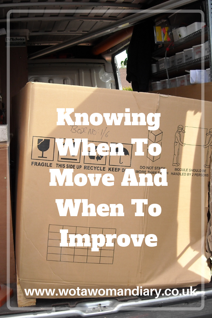 Knowing when to move and when to improve text image