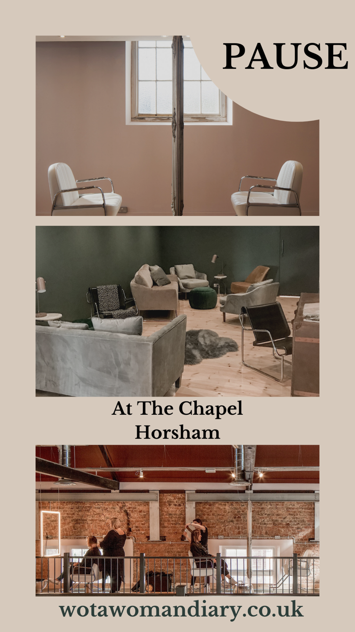 text image of the chapel horsham