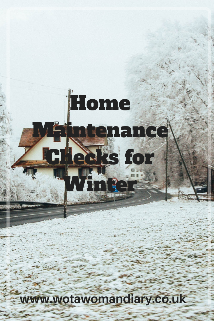 Home Maintenance Checklist For Winter