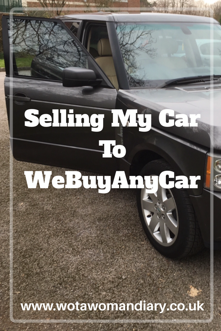 Selling My Car To WeBuyAnyCar
