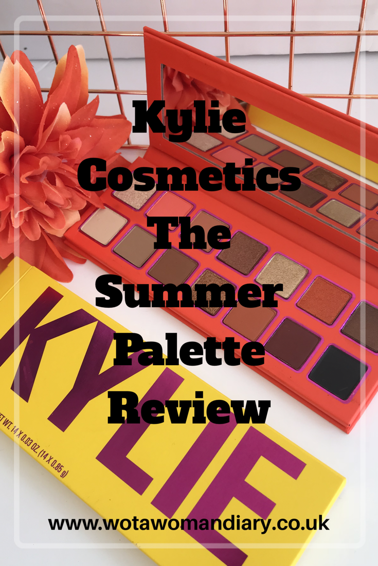 Kylie Cosmetics - The Summer Palette Review