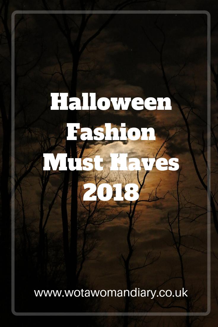 Halloween Fashion 2018