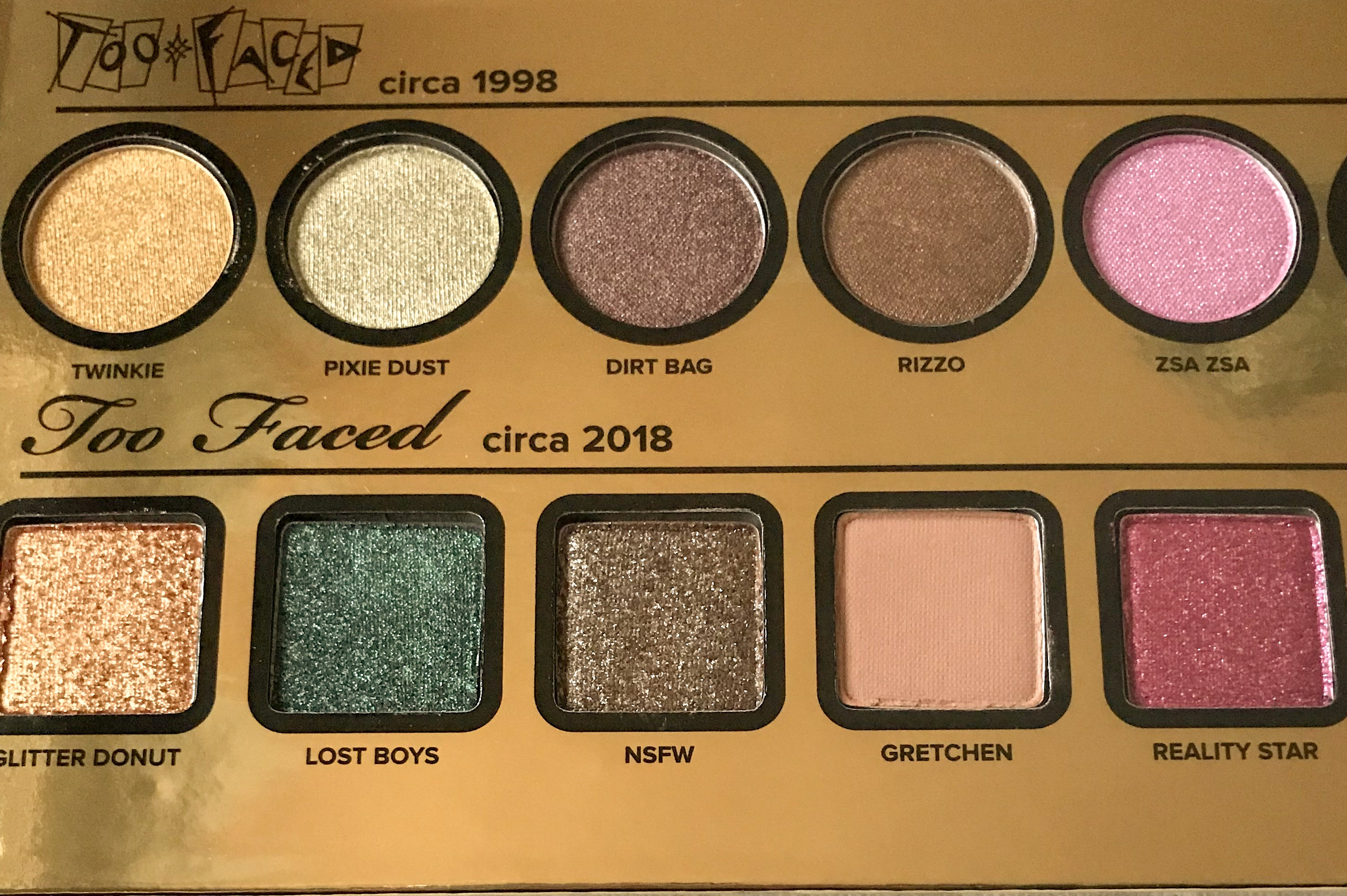 Too Faced Birthday Palette