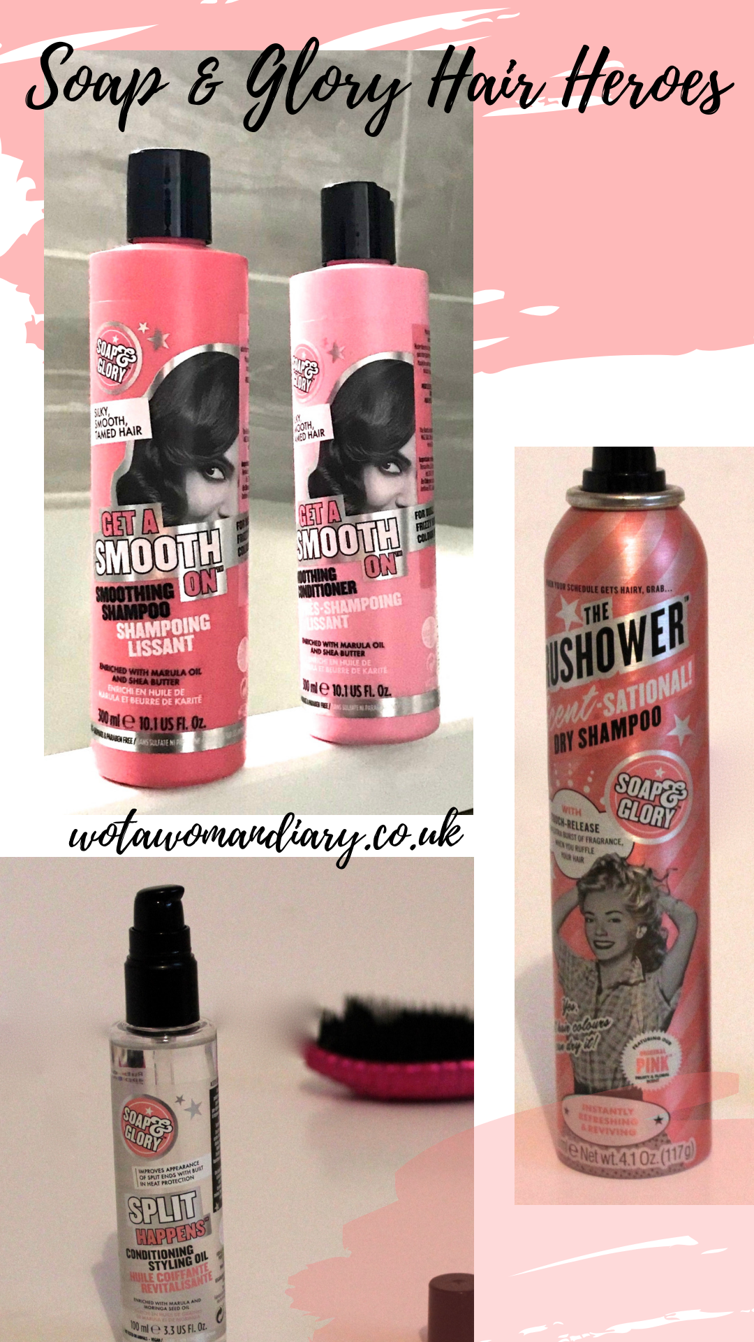 soap and glory haircare