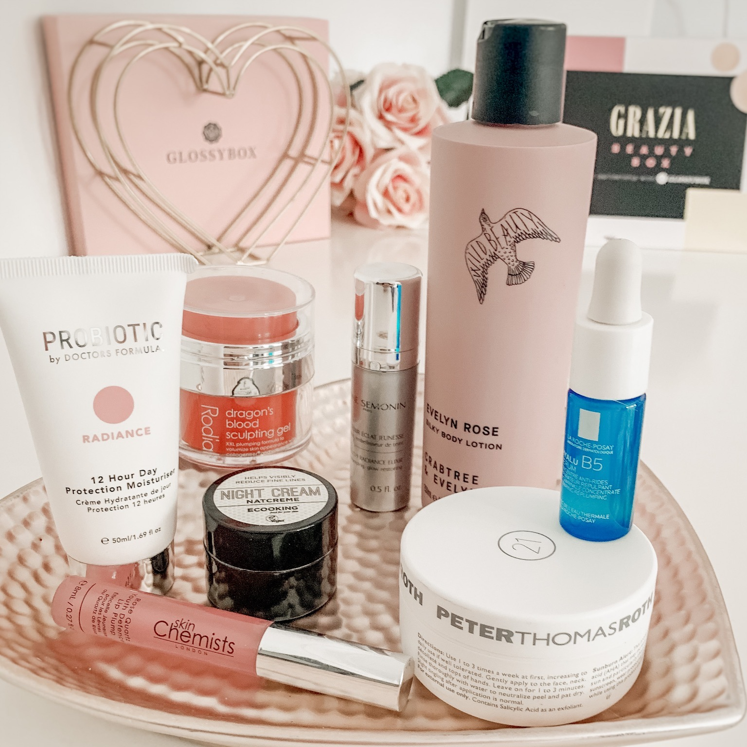 Grazia Glossybox Beauty Box Review