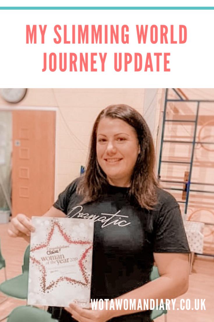 slimming world journey update text