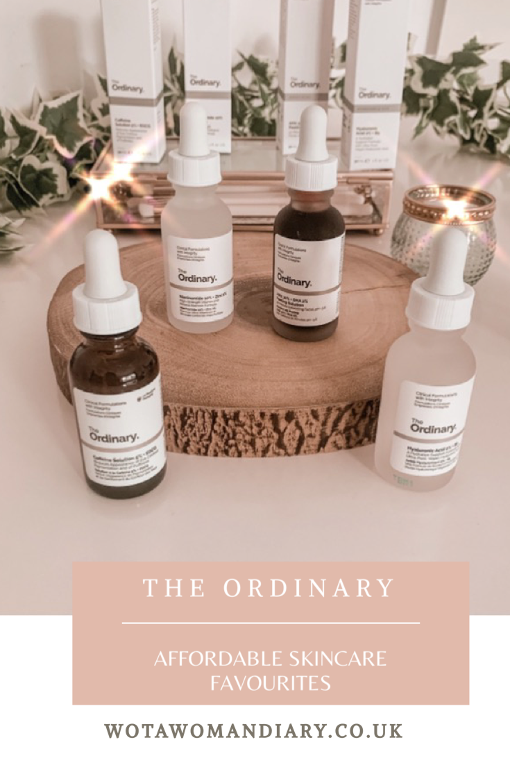The Ordinary Affordable Skincare Favourites Text Image