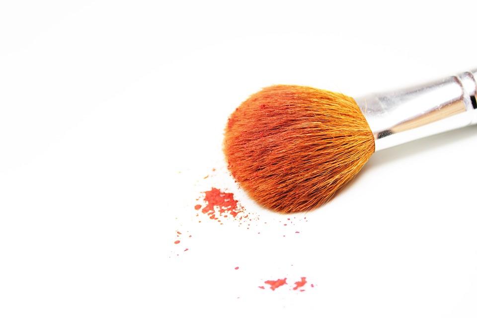 cosmetic brush head