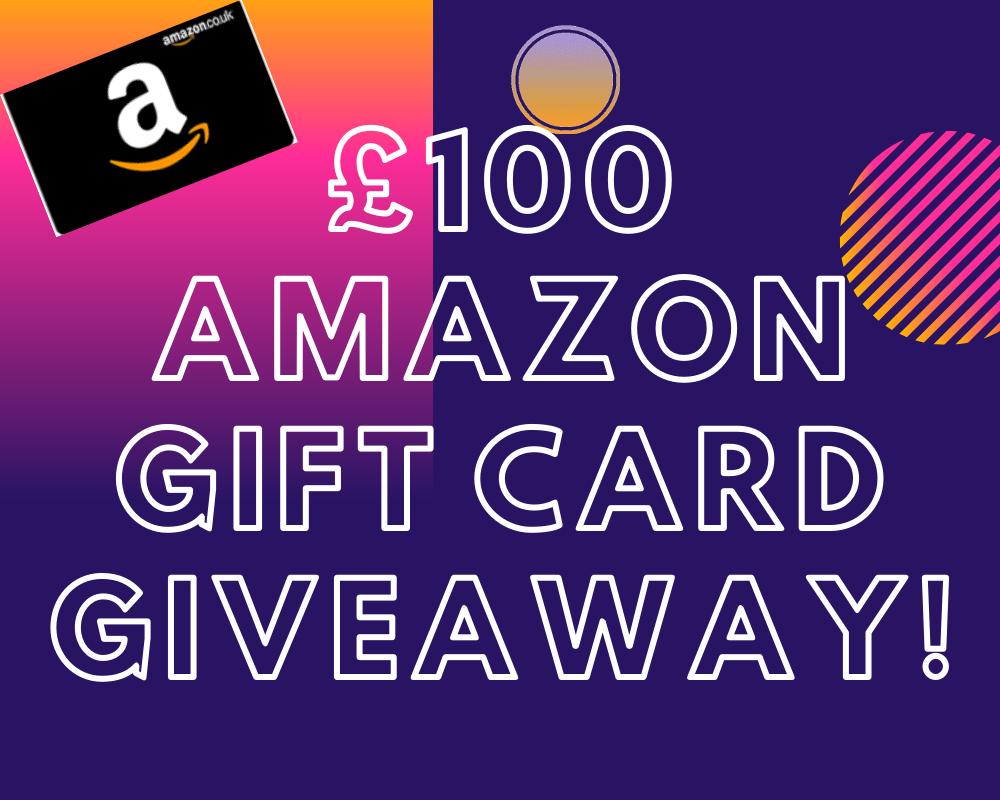 UK Top Bloggers Amazon Giveaway