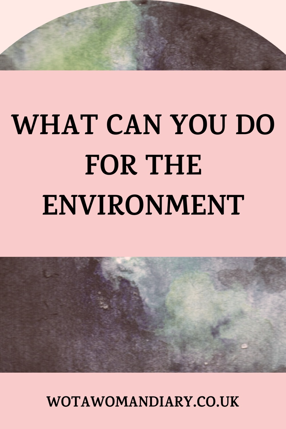 bold text reading what can you do for the environment with a gray picture of planet earth in the back ground